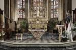 Devítičlenná porota v polovině června zvolila mezi čtyřmi návrhy nového oltáře v brněnské katedrále Petrov.