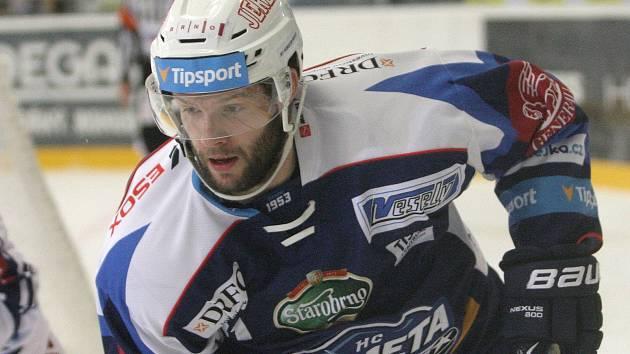 Hráč Komety Tomáš Vincour