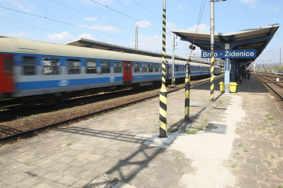 Kvůli nejtěžší části výluky nepojedou vlaky mezi Židenicemi a hlavním nádražím.