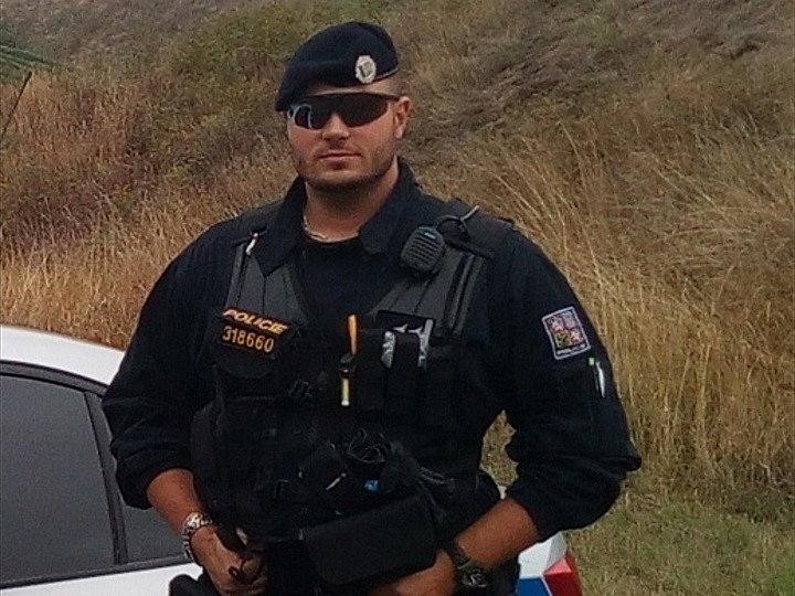 Hustopečský policista Miroslav Burger
