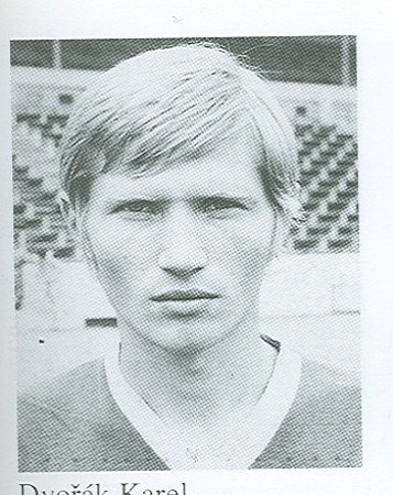 Mladý Karel Dvořeák.