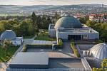 Hvězdárna a planetárium v Brně. Ilustrační foto.