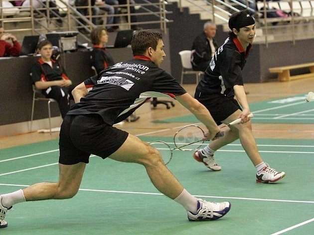 Badmintonisté Jehnic.