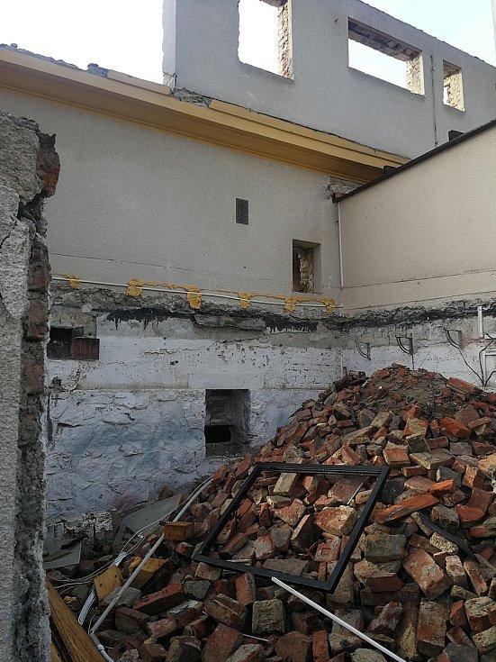 Mizející vila v ulici Tichého v brněnských Žabovřeskách.