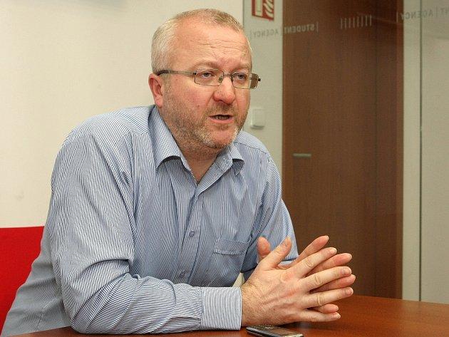 Majitel brněnské společnosti Student Agency Radim Jančura.