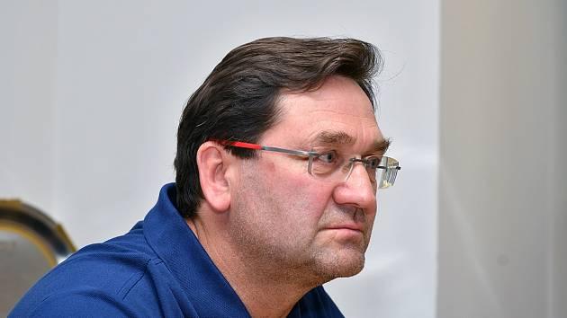 Nový hlavní trenér Komety Petr Fiala.