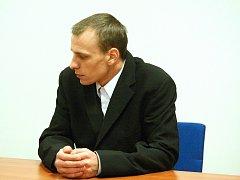 Roman Zábrš u soudu.