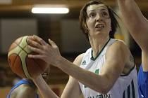 Basketbalistka Tereza Pecková.