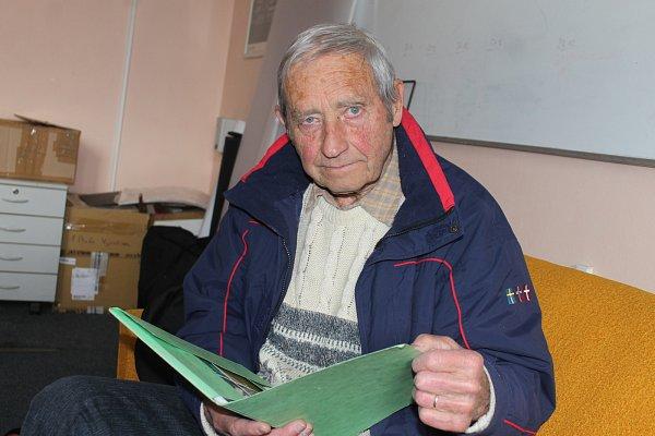 Eduard Boháček zAdamova zažil konec druhé světové války.