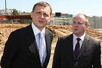 Ministr dopravy Vít Bárta navštívil Jihomoravský kraj.
