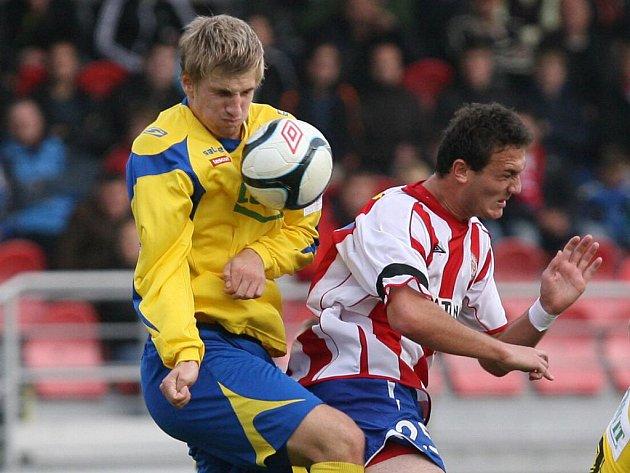 Fotbalista Zbrojovky Doležal.