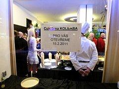 Kolbabova cukrárna v brněnské Kounicově ulici.