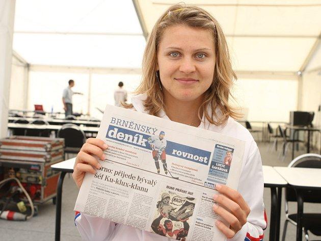 Tenistka Lucie Šafářová odpovídá on-line.