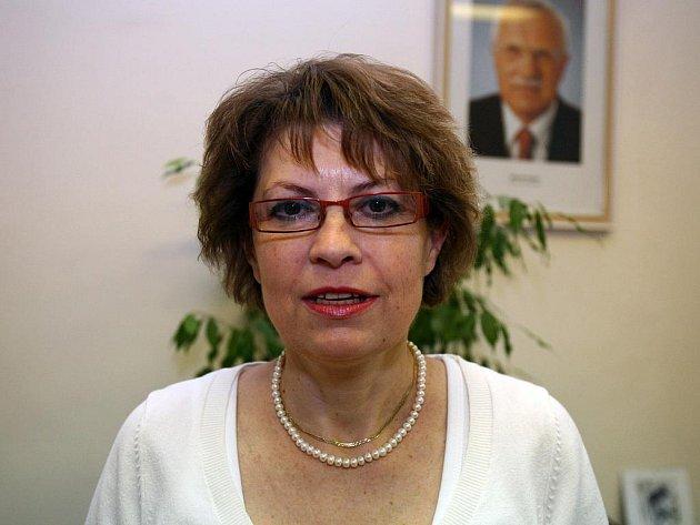 Vedoucí odboru práce Ivana Ondráková z brněnského úřadu.