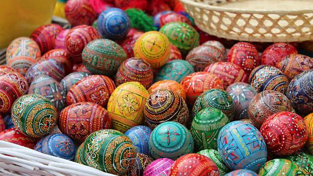 Na brněnském náměstí Svobody začaly Velikonoční slavnosti