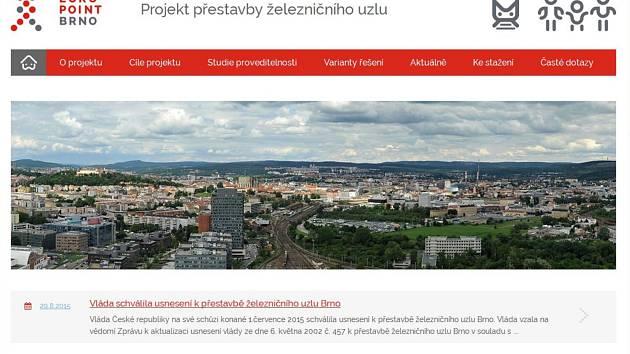 Město Brno spustilo nové webové stránky, na kterých chce objektivně a nezaujatě srovnávat obě varianty přestavby brněnského hlavního vlakového nádraží.