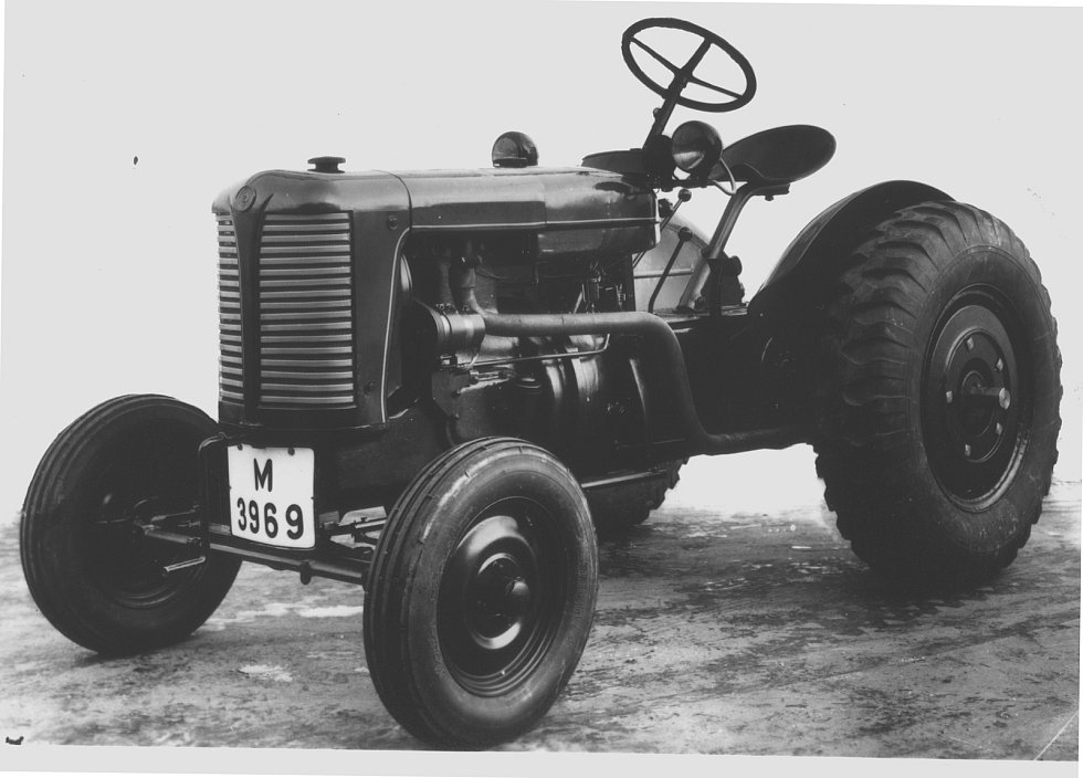 Zetor 25 z roku 1946.