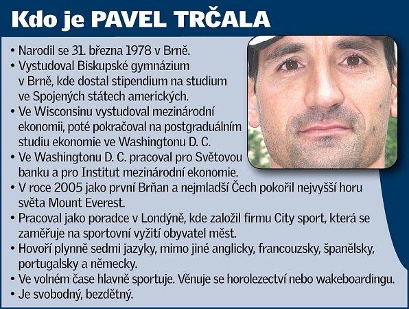 Kdo je Pavel Trčala.