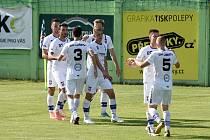 Líšeňští fotbalisté postoupili přes Lanžhot do 2. kola českého poháru.