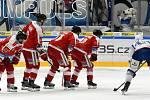 Brno 26.11.2019 - domácí HC Kometa Brno v bílém proti HC Olomouc