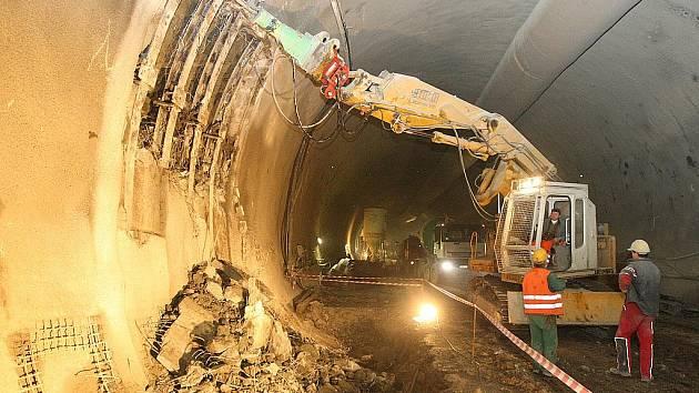 Dobrovského tunely. Ilustrační foto.