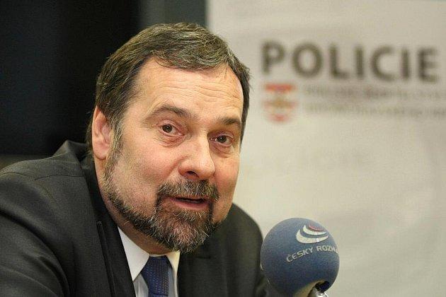 Ministr vnitra Radek John.