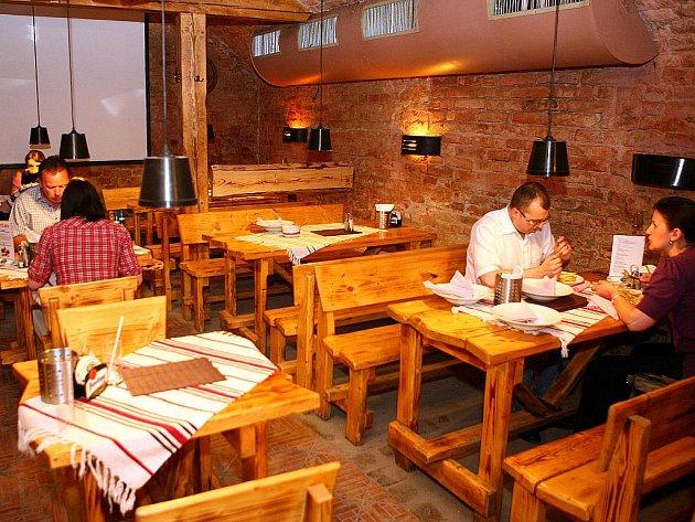 Brněnská restaurace Ratejna.