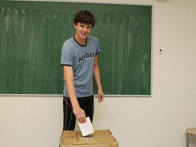 Studentské volby.
