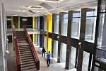 Opravené prostory budovy A1 v brněnském Králově Poli znovu využívají studenti strojírenství.