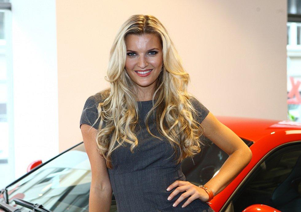 Modelka Veronika Chmelířová Procházková