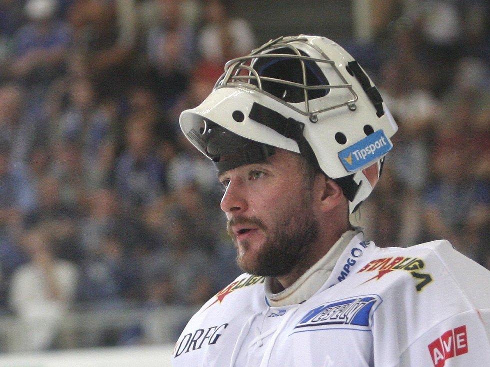 Brankář Marek Čiliak.