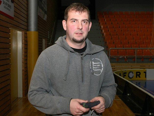 Kouč Bulldogs Brno Jan Nizner.