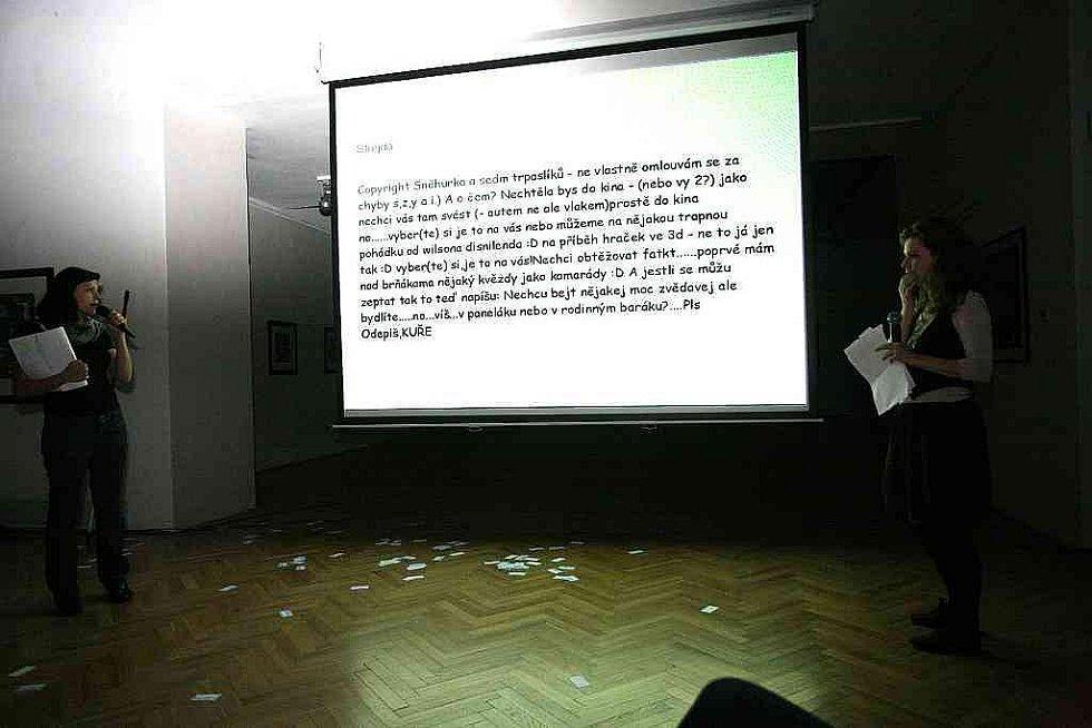 Pecha Kucha Night v brněnském Domě umění.