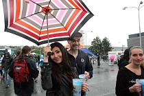 Jedenáctý ročník Majálesu na brněnském výstavišti ve středu přilákal tisíce fanoušků.