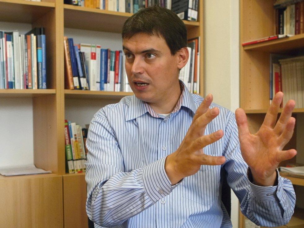 Politolog Michal Pink.