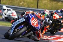 Šlapanický závodník Michal Filla dojel sedmý v boji o titul mistra Evropy ve třídě Supertock 1000.