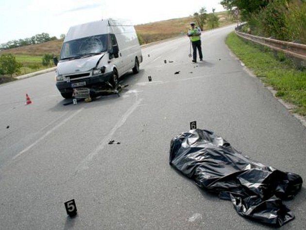 Tragická nehoda u Nosislavi na brněnsku.