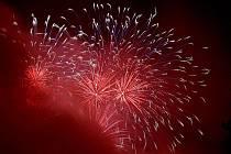 Lucemburský ohňostroj skupiny Fire event les pyrotechnicies nazvaný Lucembursko přichází do Brna.