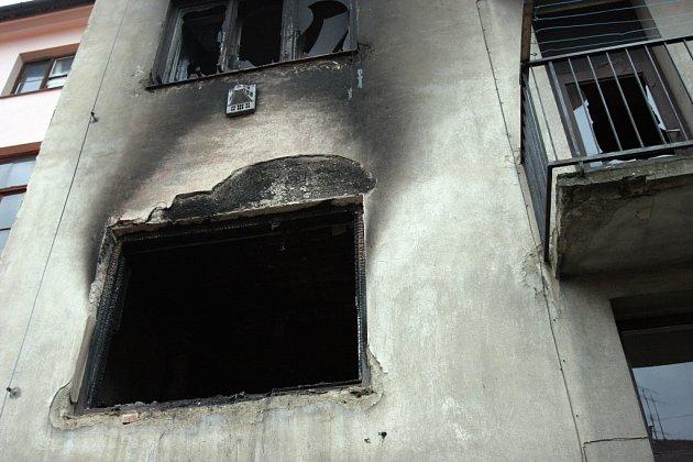 V sobotu večer začal hořet jednopokojový byt ve Vranovské ulici