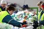 Den otevřených dveří v logistickém centru pro nakládání s odpady v brněnské Líšni.