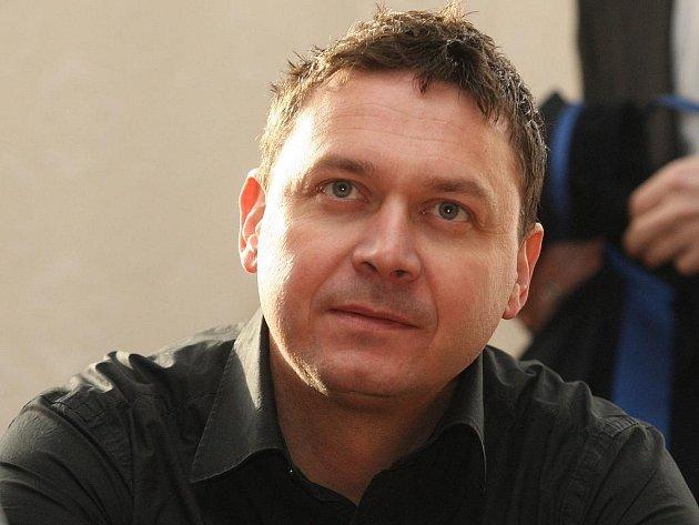 Petr Schenk u Krajského soudu v Brně.