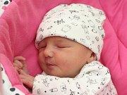 Isabela Schlicková z Brna. Narozena 25-02-19 ve Fakultní nemocnici ve 16:45, váží 3480gr a měří 50cm