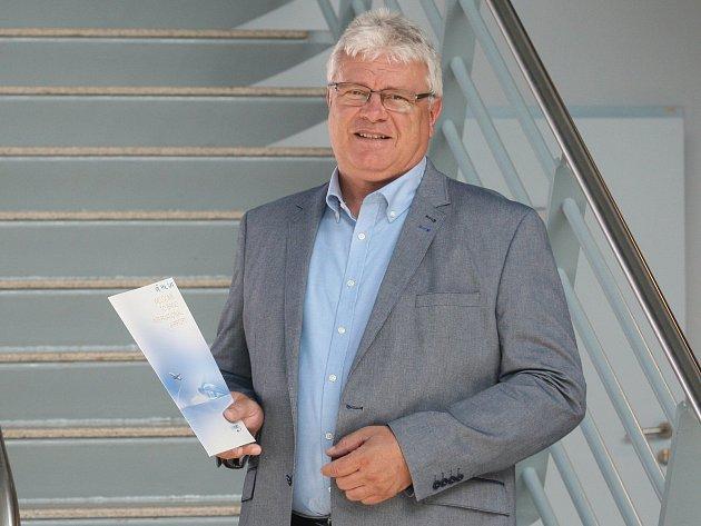 Předseda představenstva Letiště Brno Jiří Filip.