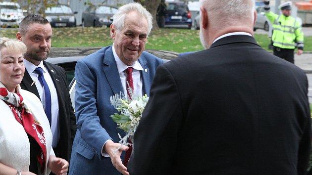 Prezidentská návštěva jižní Moravy, den první