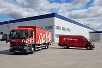 Brno 27.8.2020 - Zásilkovna a Coca-Cola HBC v nových skladech v komplexu u brněnského letiště