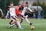 Brno 15.2.2020 - přípravné utkání mezi FC Zbrojovka Brno (Jakub Přichystal) v červeném proti FK Železiarne Podbrezová