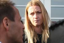 Soud s Radimem Žondrou, který podle obžaloby napadl v prosinci před dvěma lety tenistku Petru Kvitovou (na snímku), začal v pondělí na Krajském soudě v Brně.