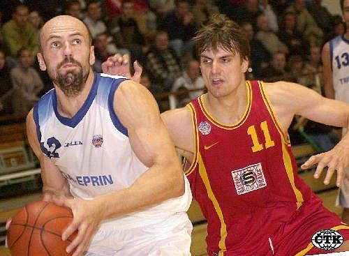 Basketbalista Aleš Kočvara.