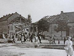 25. srpna 1944 poprvé bombardovala spojenecká letadla město Brno, konkrétně části Líšeň a Židenice.