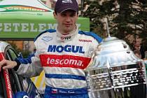 Loňský vítěz Hustopečské ralley luhačovický pilot Roman Kresta.